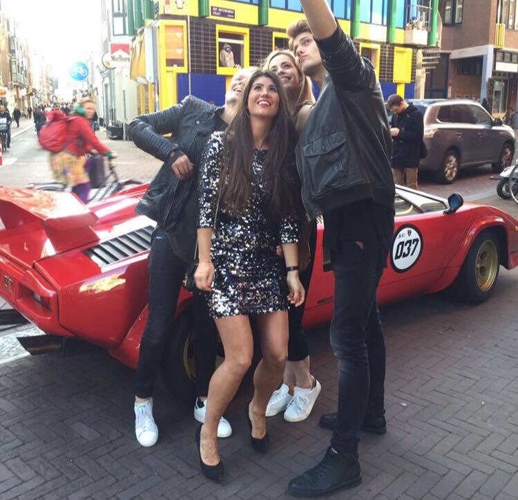 Amsterdam Diary Valerie Dekker en Chloe Sterk Katwalk RTL5 Nanne Meijer - Martijn Manschot