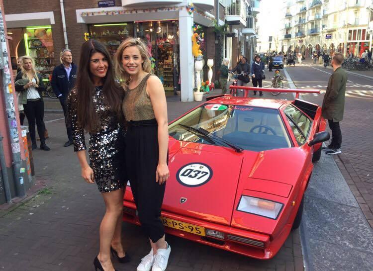 Amsterdam Diary Valerie Dekker en Chloe Sterk Katwalk RTL5