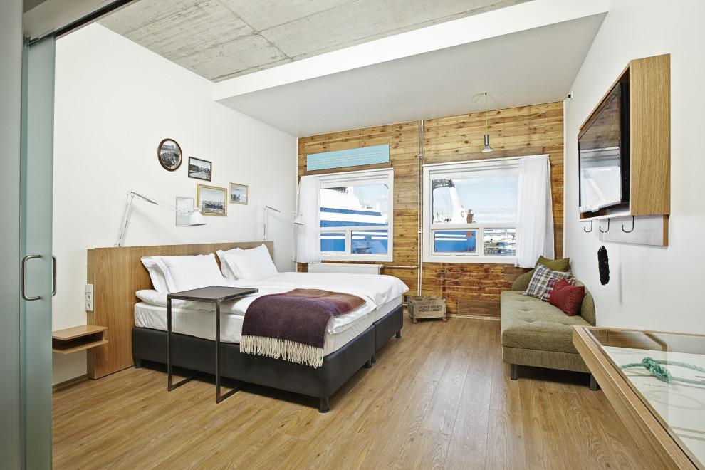 Reis naar Ijsland, slapen in Marina Icelandair hotel.