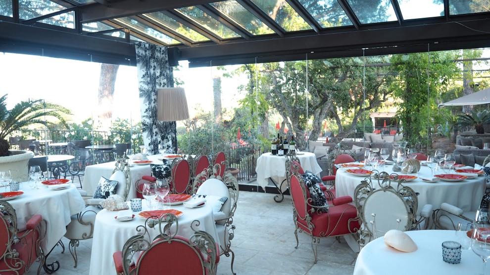 Hotel villa marie st tropez travel Dolce Vita restaurant Ramatuelle