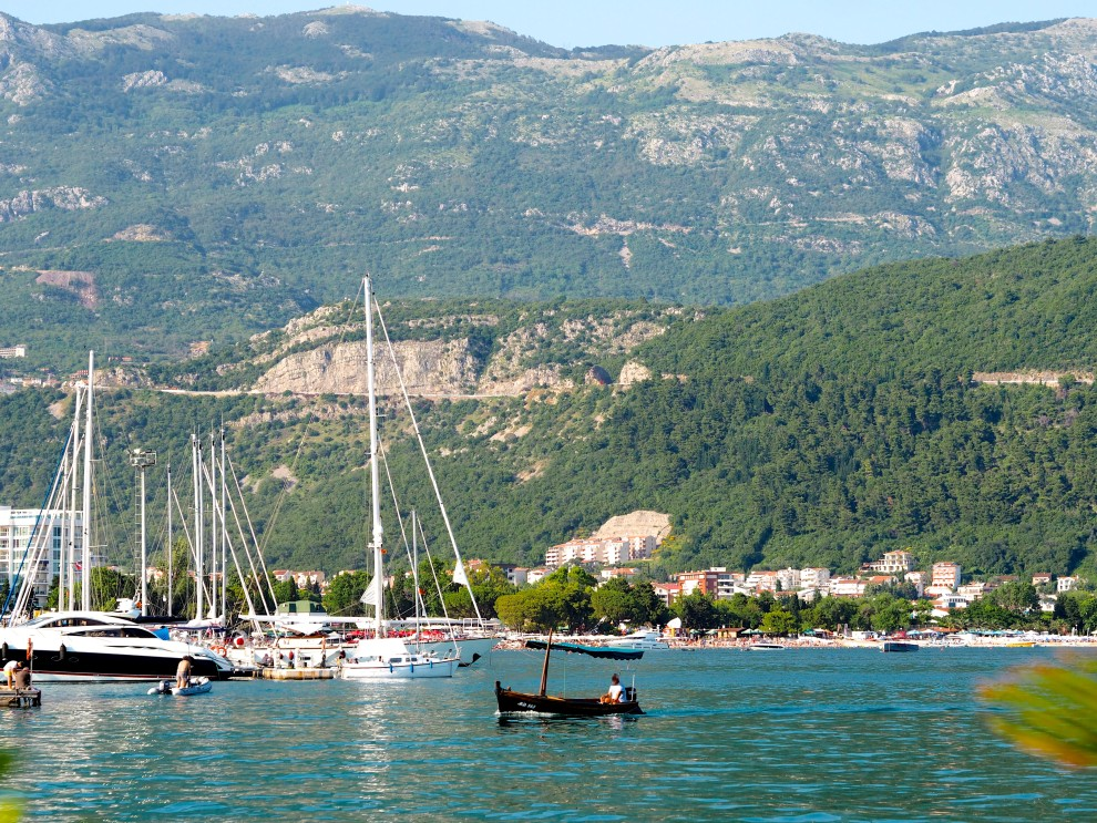 MONTENEGRO THE NEW PLACE TO BE TRAVEL BUDVA HARBOUR