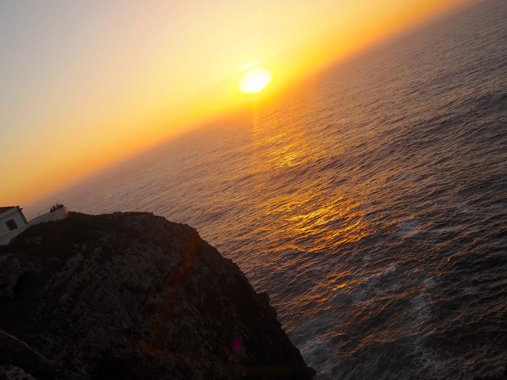 THE ALGARVE IN WINTER Cabo de São Vicente KAAP Sint Vincent