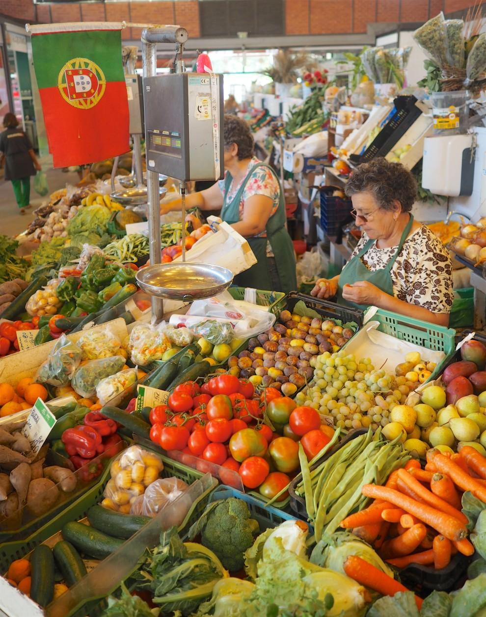 THE ALGARVE IN WINTER Olhão market