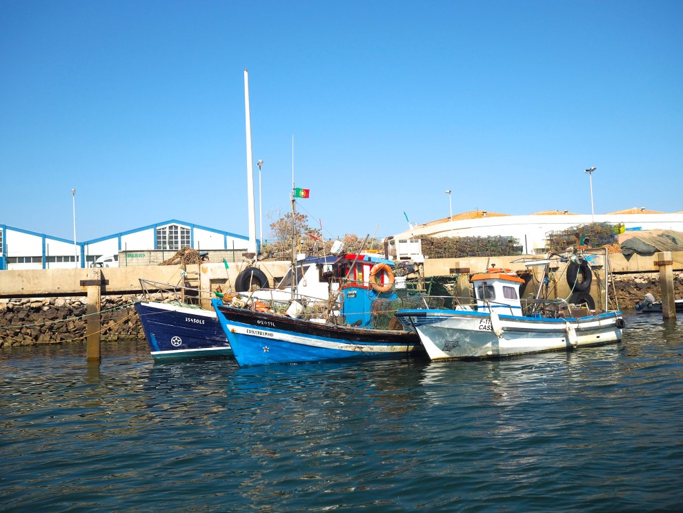 THE ALGARVE IN WINTER Olhão harbour