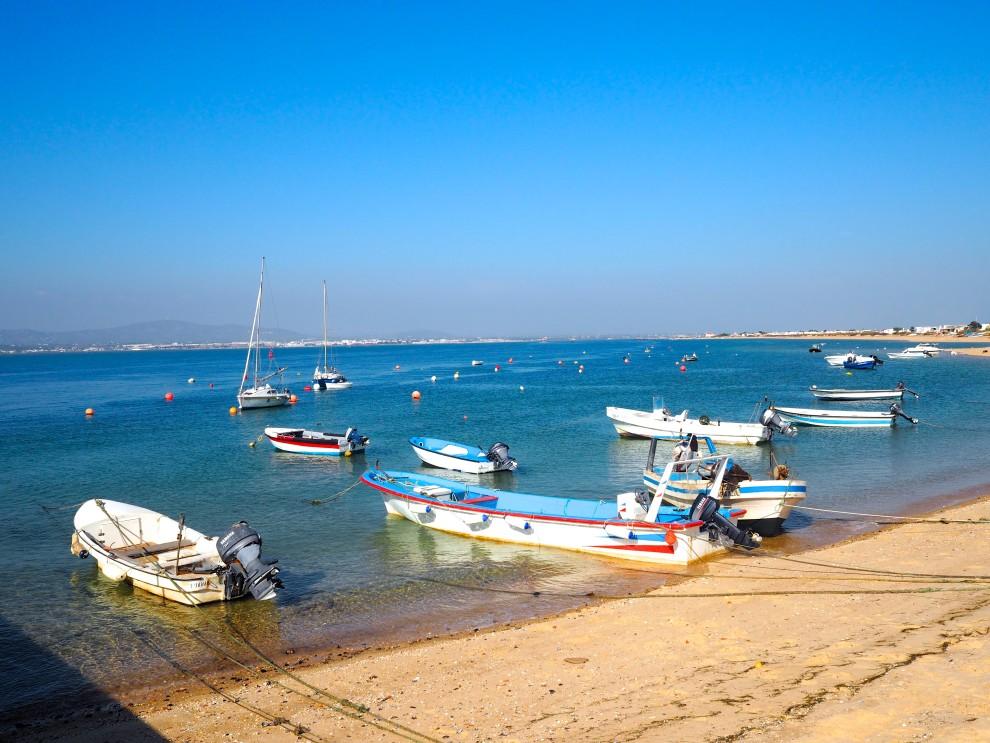THE ALGARVE IN WINTER Ilha do Farol Culatra