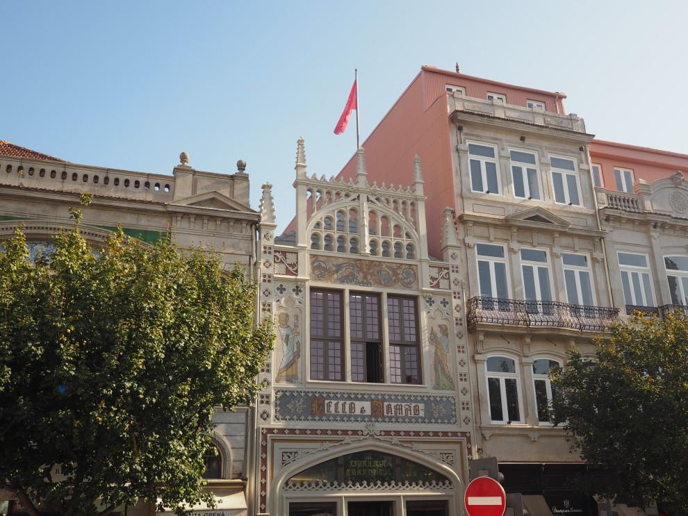 PORTO PORTUGAL CITYTRIP Lello Bookstore