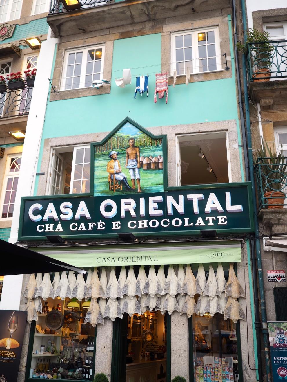 PORTO PORTUGAL CITYTRIP CASA ORIENTAL