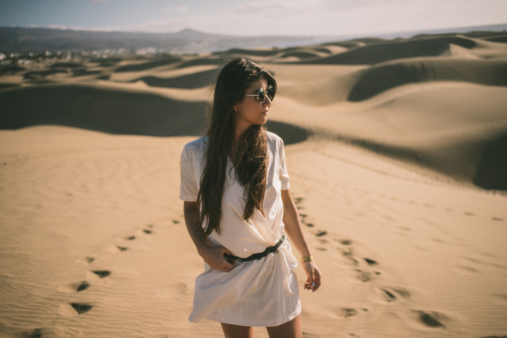 Gran Canaria Maspalomas Dunes FashionistaChloe