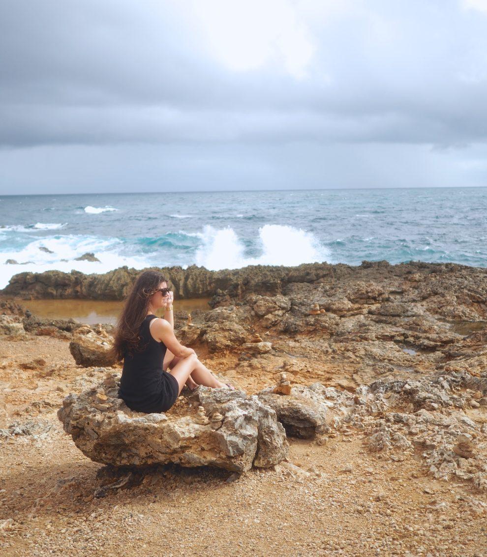 OP VAKANTIE NAAR ARUBA IN DE WINTER noord kust van Aruba