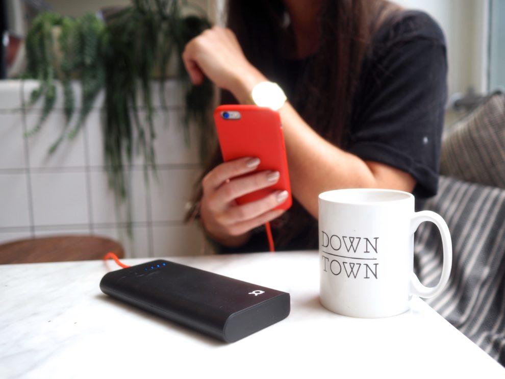 NOOIT MEER EEN LEGE TELEFOON MET DEZE GADGET
