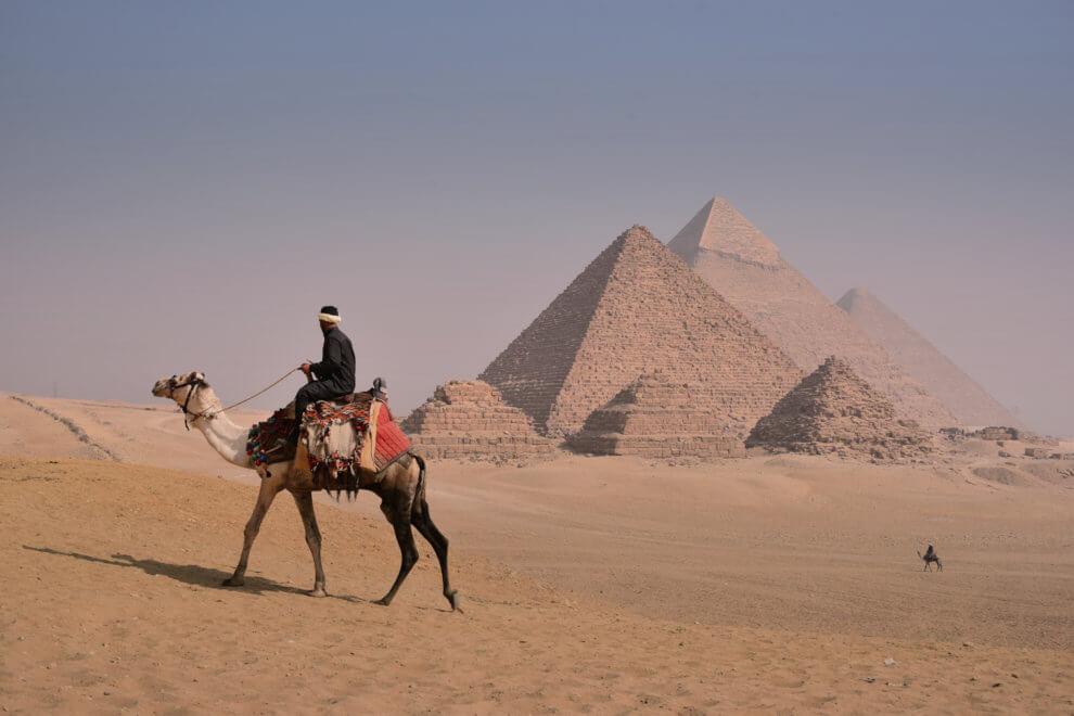 DRIE HIGHLIGHTS VAN Caïro EGYPTE - De Sfinx van Gizeh