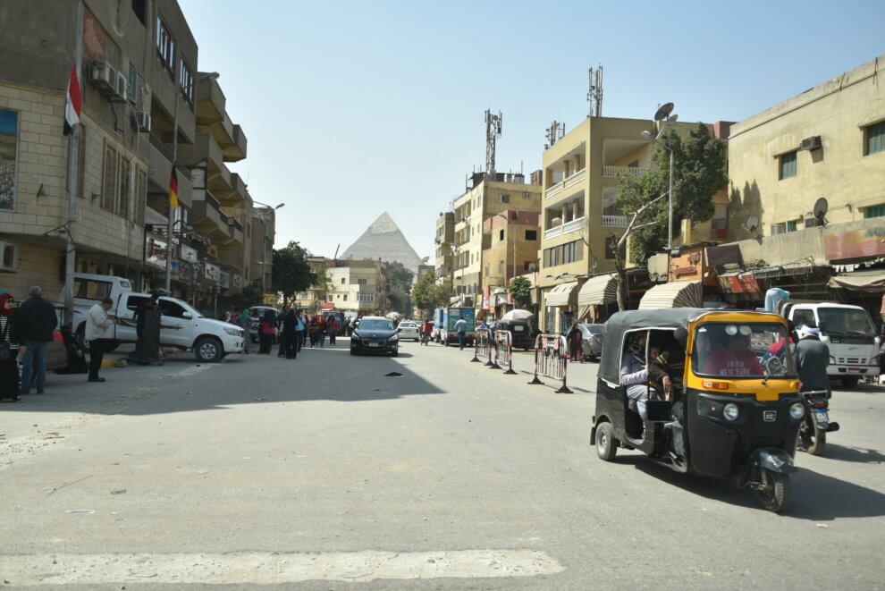 DRIE HIGHLIGHTS VAN Caïro EGYPTE - PIRAMIDES VAN CAIRO