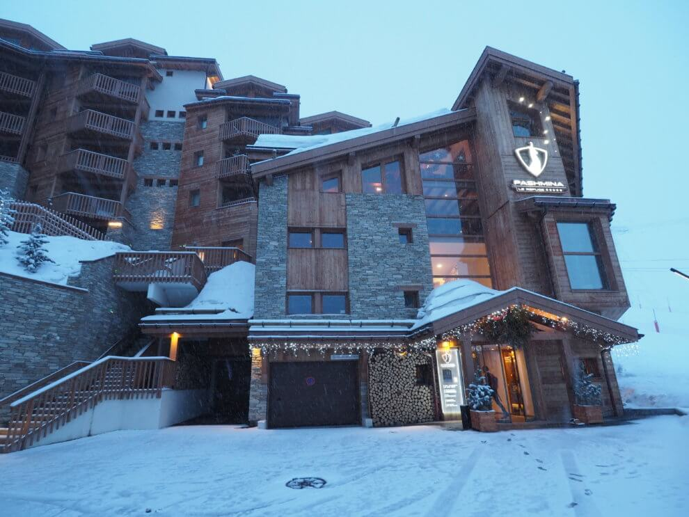 hotel PashminaLe Refuge Val Thorens ski-trip 2017 2018 Franse Alpen