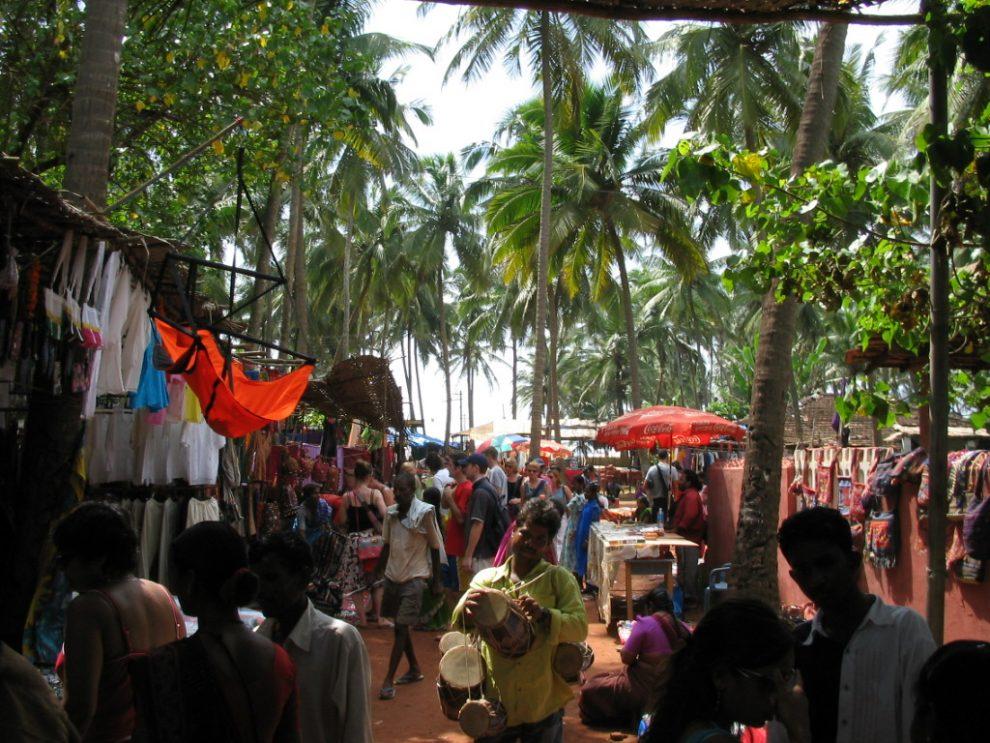 Een vakantie naar Goa, Noord India -De leukste plekken in Noord India Anjuna flea market