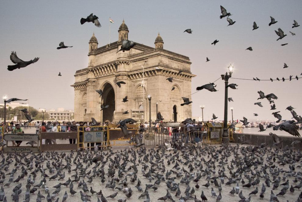 Gateway of India mumbai bezienswaardigheden coca-cola droomvakantie