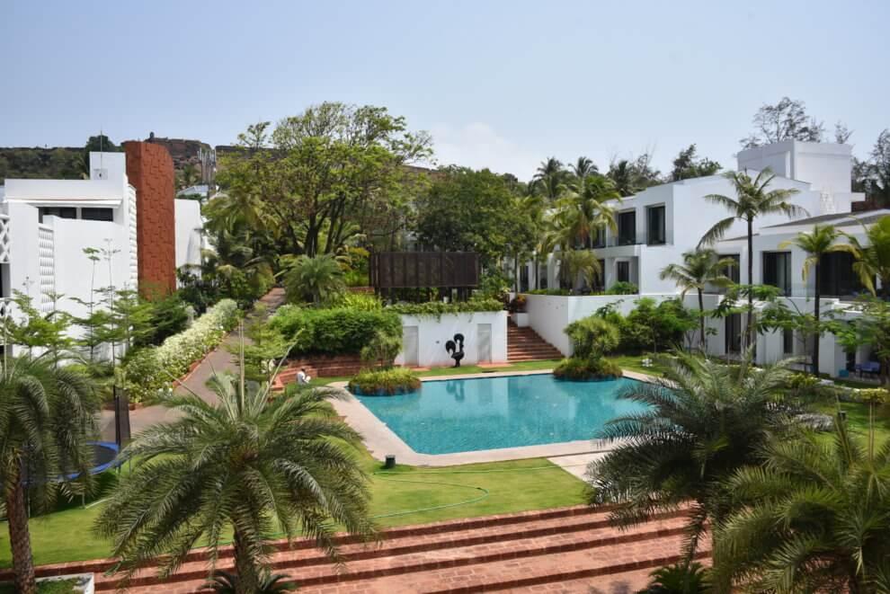 Een vakantie naar Goa, Noord India - W Goa resort op Vagator Beach India