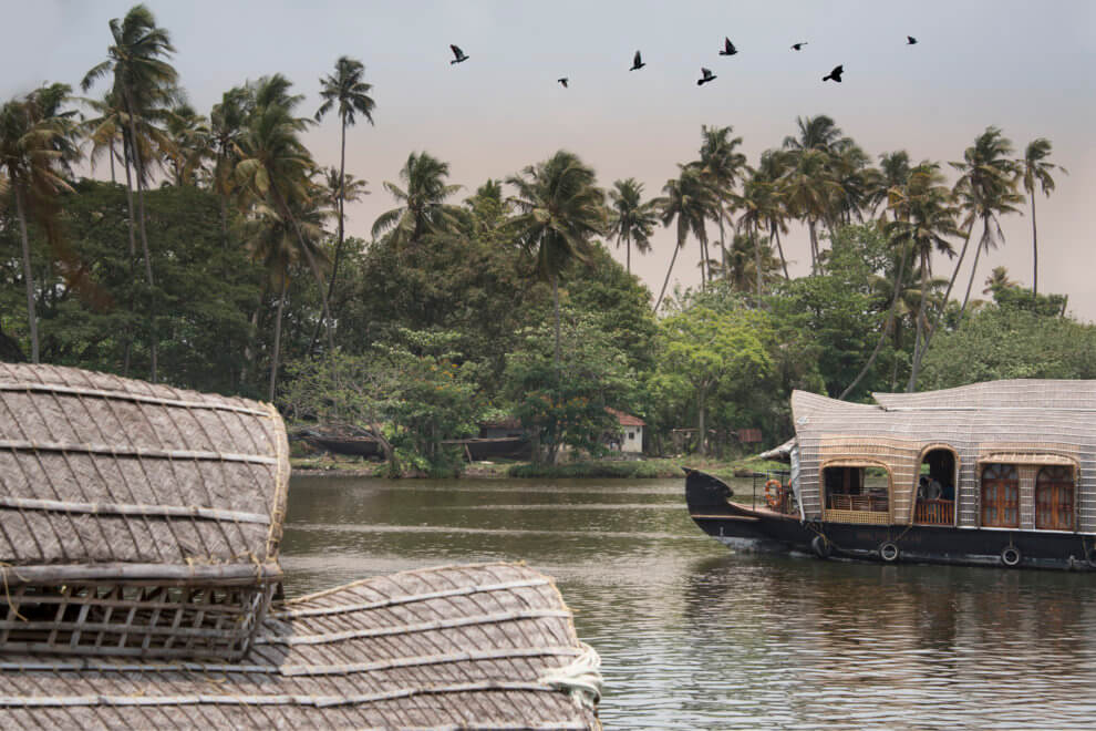 Kerala backwaters houseboat Allepey