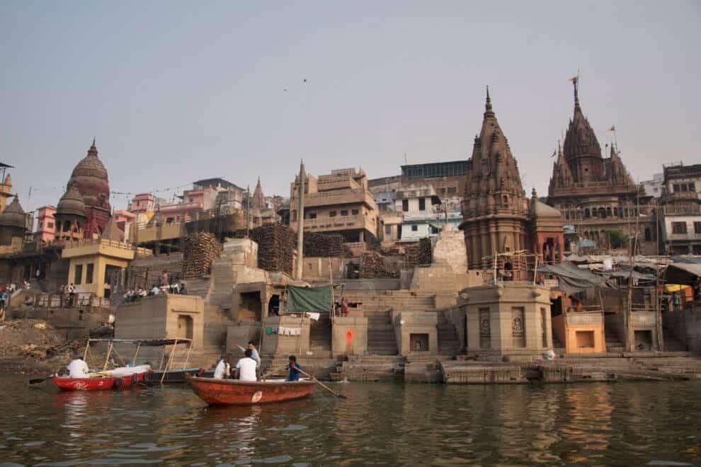 India Varanasi wat moet je doen in deze stad? Pelgrims