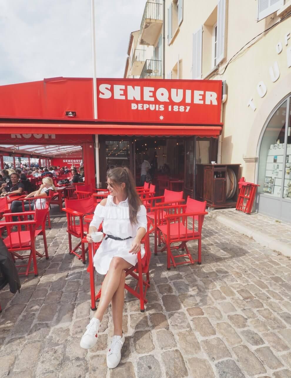 handigste Saint Tropez tips voor aankomende zomer - haven van Saint Tropez - Senequier
