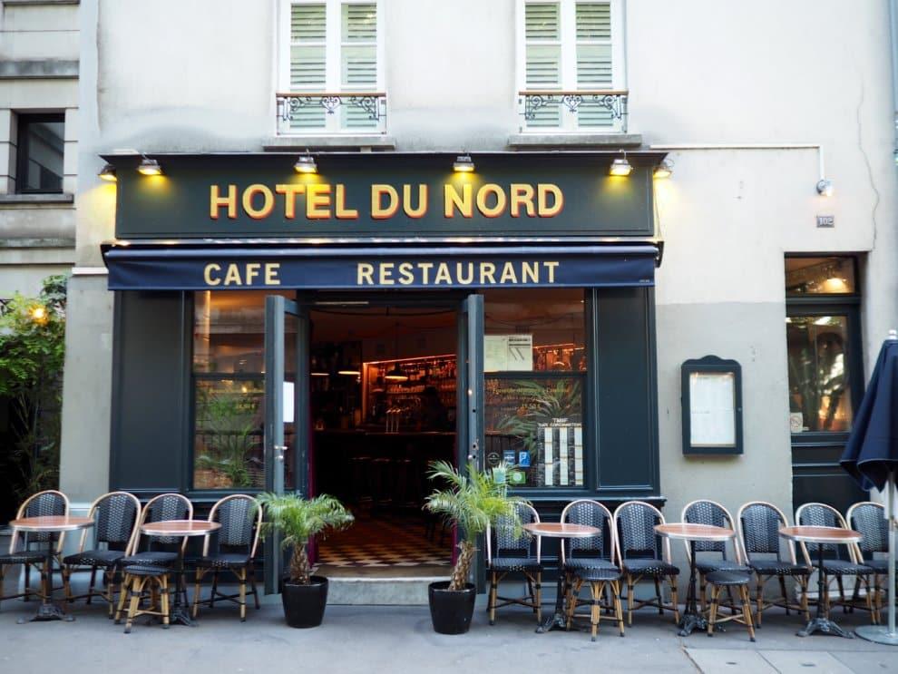 Hotel du Nord 10e arrondisement Canal Saint Martin Parijs