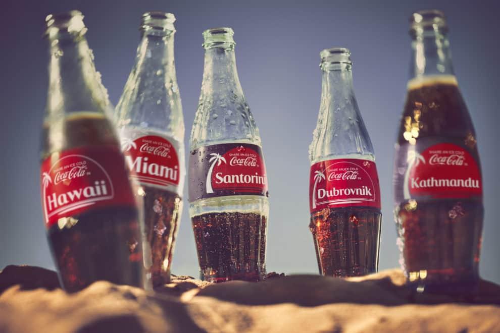 5 favoriete bestemmingen uit de Coca-Cola zomercampagne