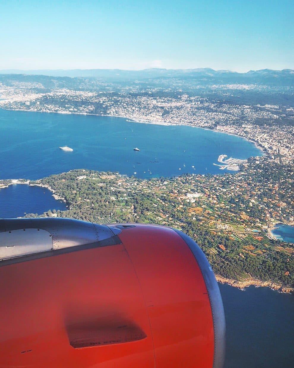goedkoop naar Zuid Frankrijk Easyjet