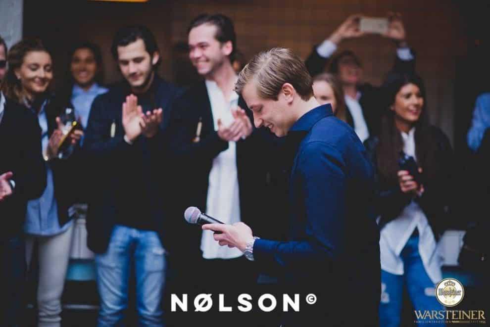 Niek Koedam, oprichter van NØLSON