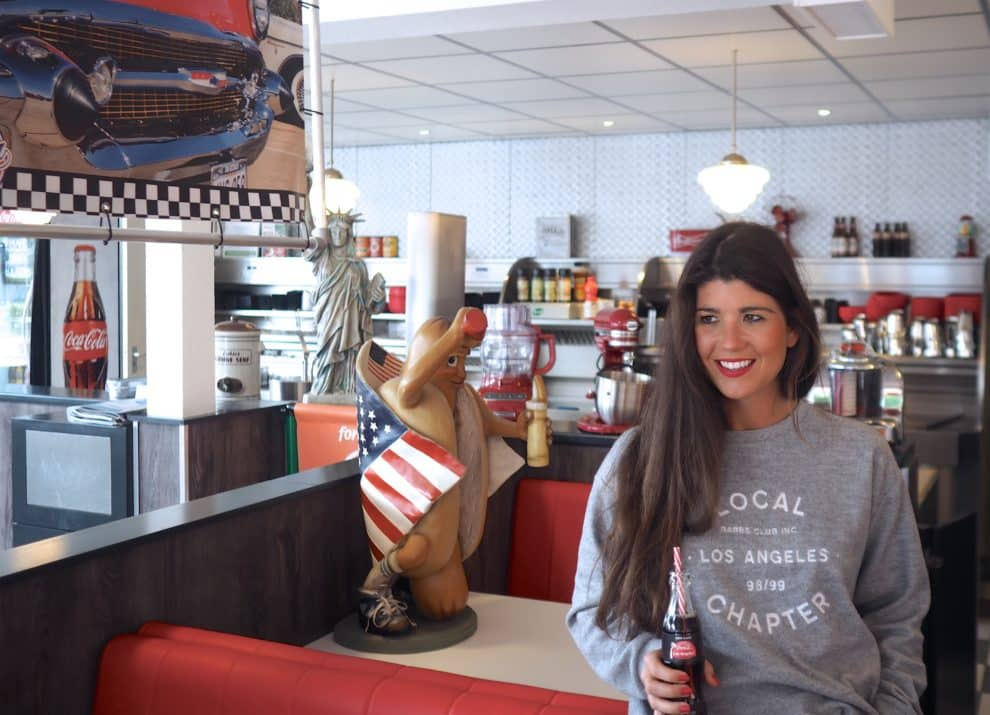 Los Angeles american diner Coca-Cola reizen roadtrip