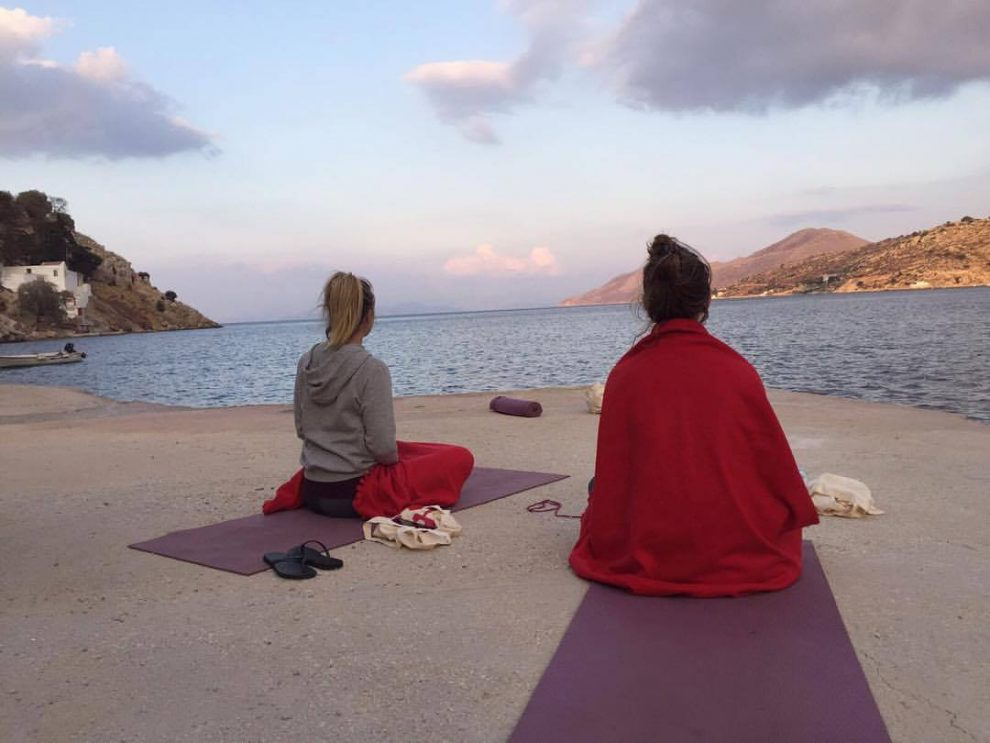Yoga Cruise in Turkije Sanne Noorman