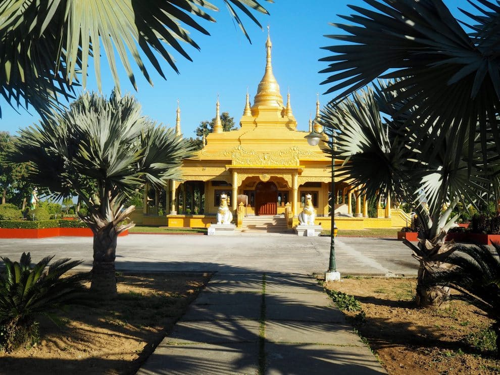 Golden Pagoda Namsai Arunachal Pradesh India