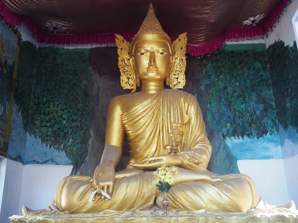 Golden Pagoda Namsai Arunachal Pradesh India Chonkham