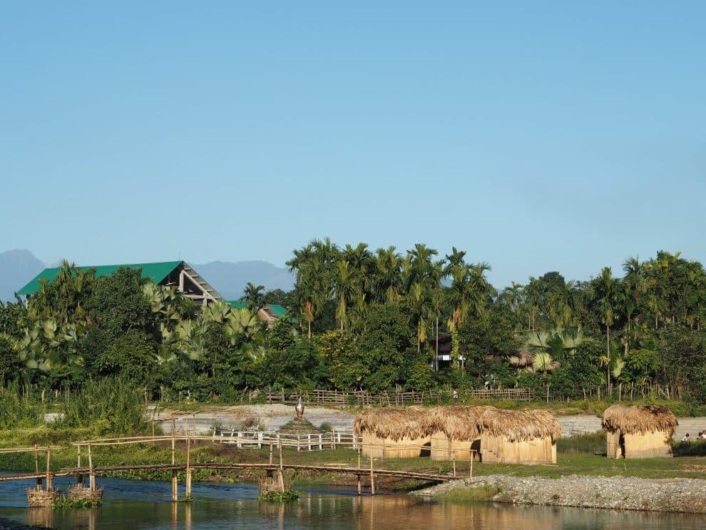 Golden Pagoda Namsai Arunachal Pradesh India Golden Pagoda Eco Resort Namsai