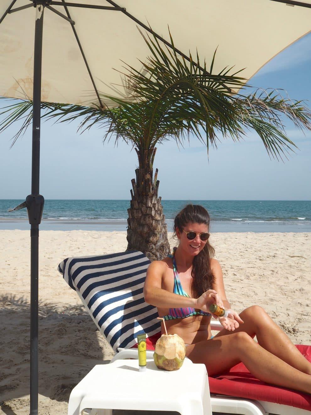 Gambia Ocean Beach Hotel Cape Point De zon op je huid is heerlijk, maar pas op! Aruba Aloe