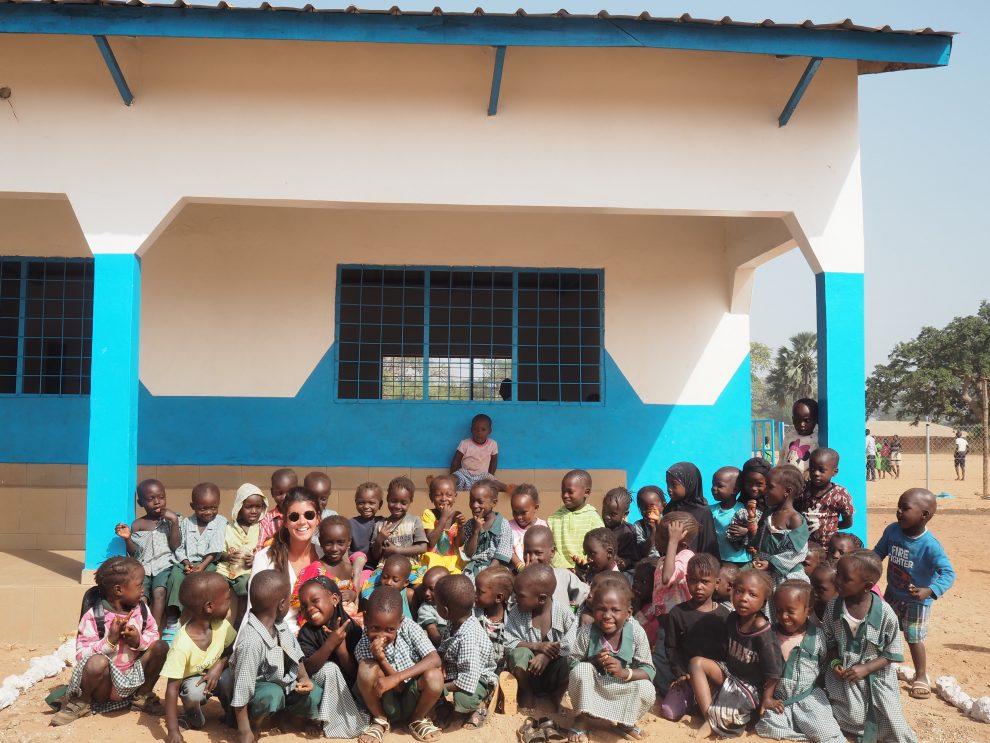 Onderwijs in het binnenland van GambiaAbca's Creek Lodge