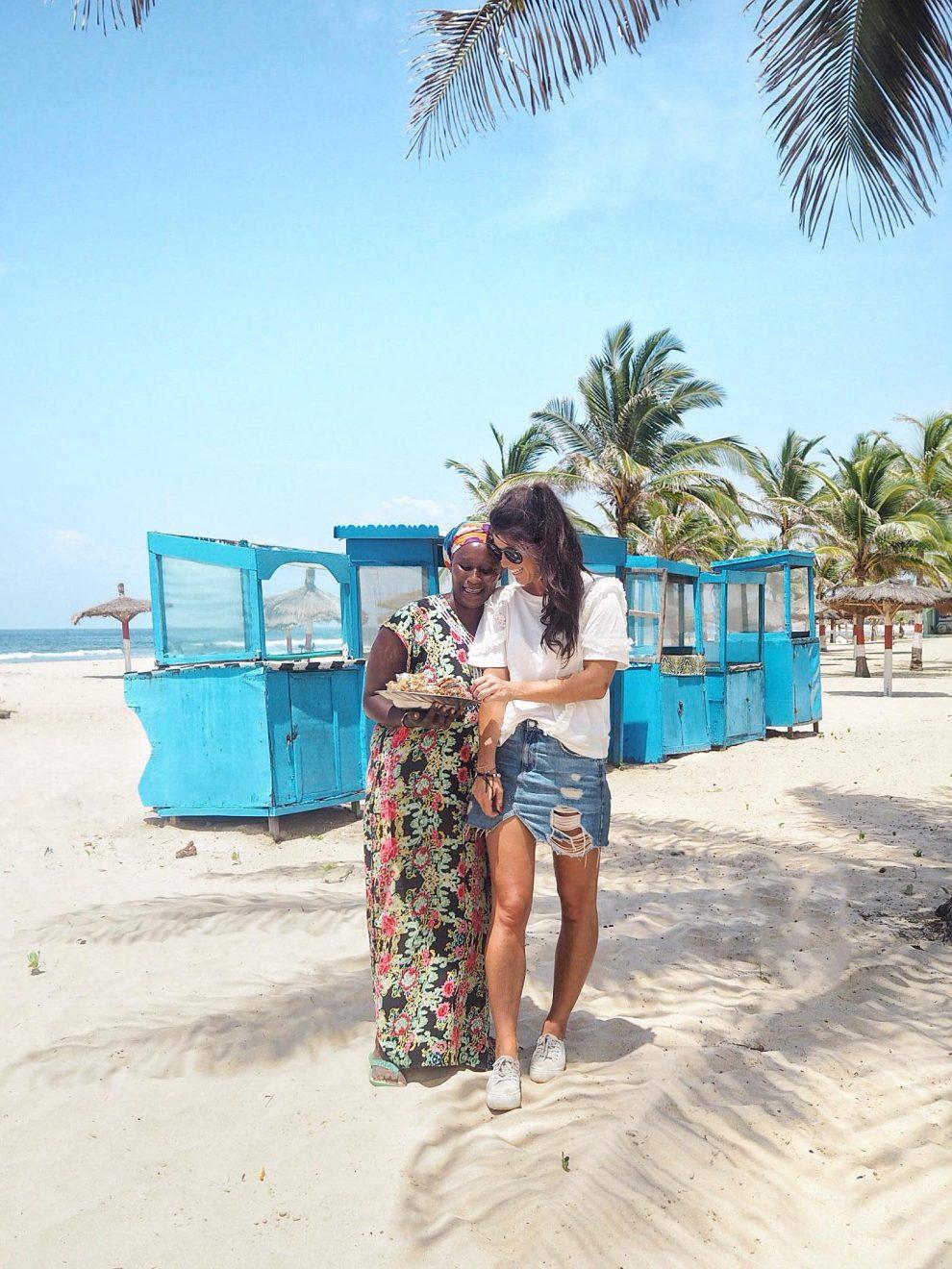 De Gambia vakantiegids Kotu beach Gambia