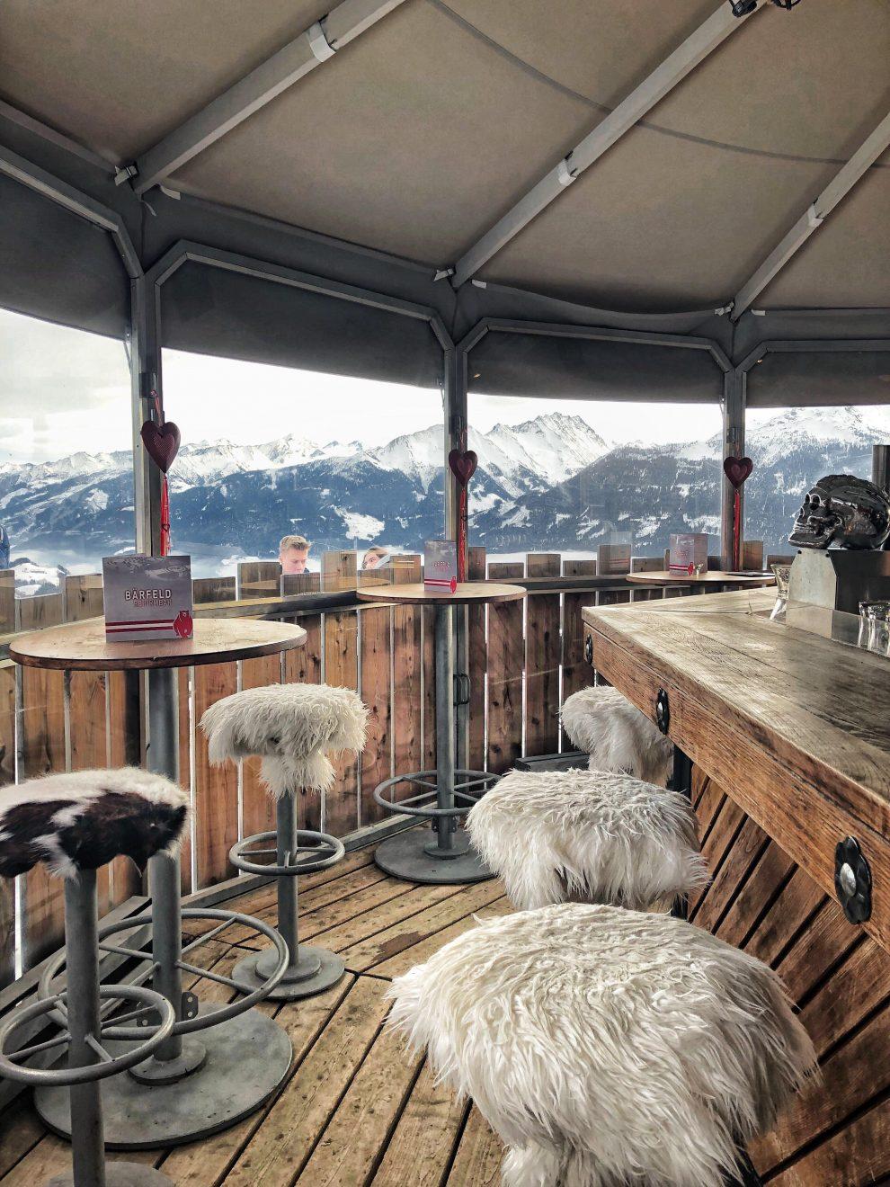 Kitzbühel Oostenrijk KitzSki Tirol - Schnaps BarBayerfeld