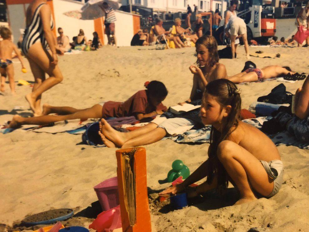 einzelgänger, alleen op reis, Chloe Sterk, column (Chloe Sterk jong)