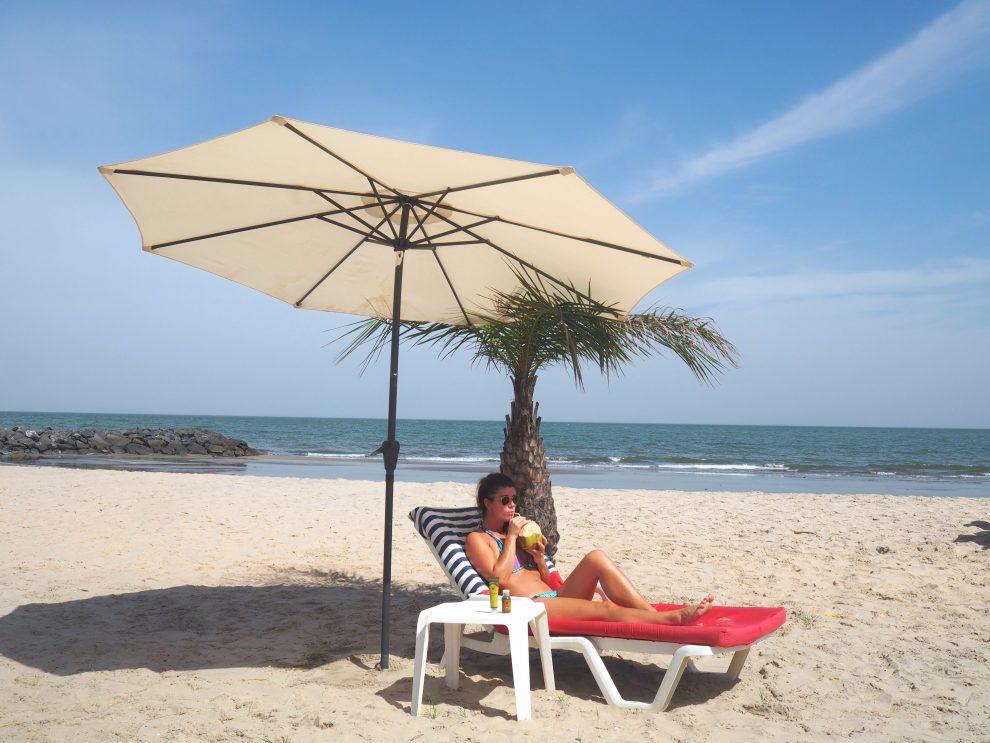 De Gambia vakantiegids Cape Point strand Gambia