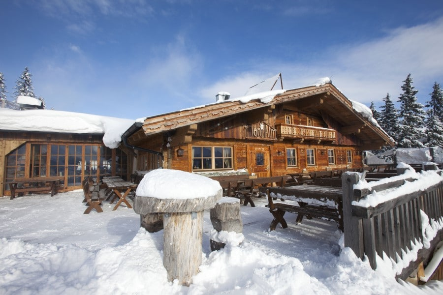 Kitzbühel Oostenrijk KitzSki Tirol - Toni Alm Hollersbach