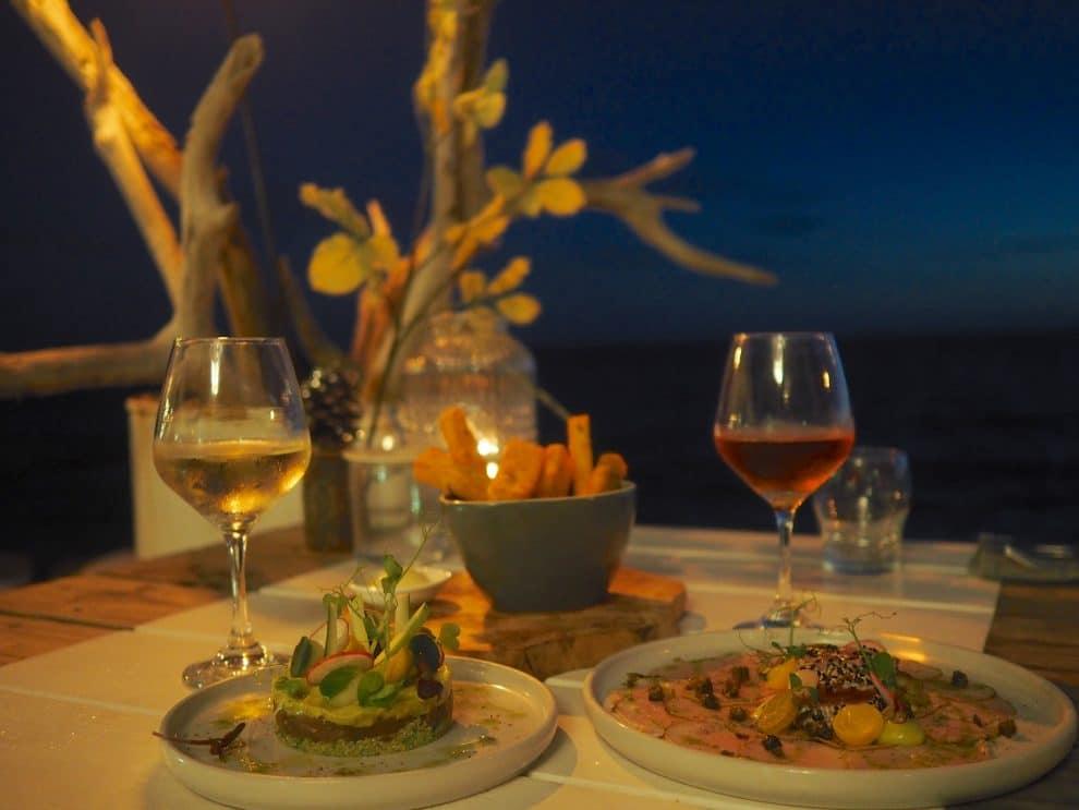 BijBlauw Curaçao willemstad 7x eten in Curaçao.
