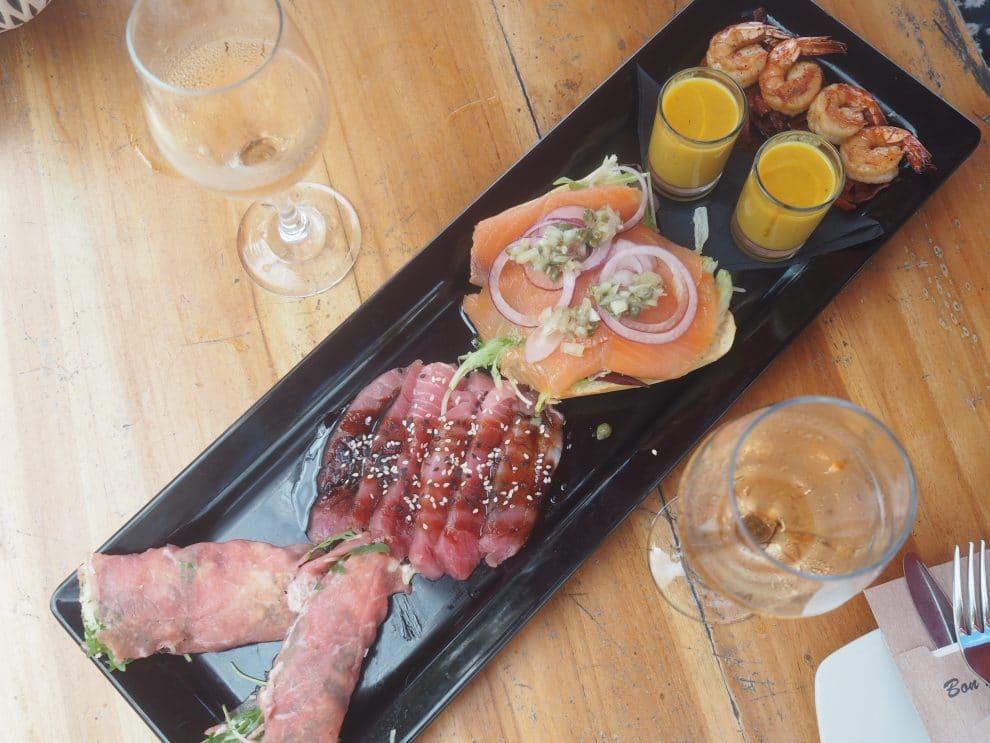 Karakter willemstad 7x eten in Curaçao.