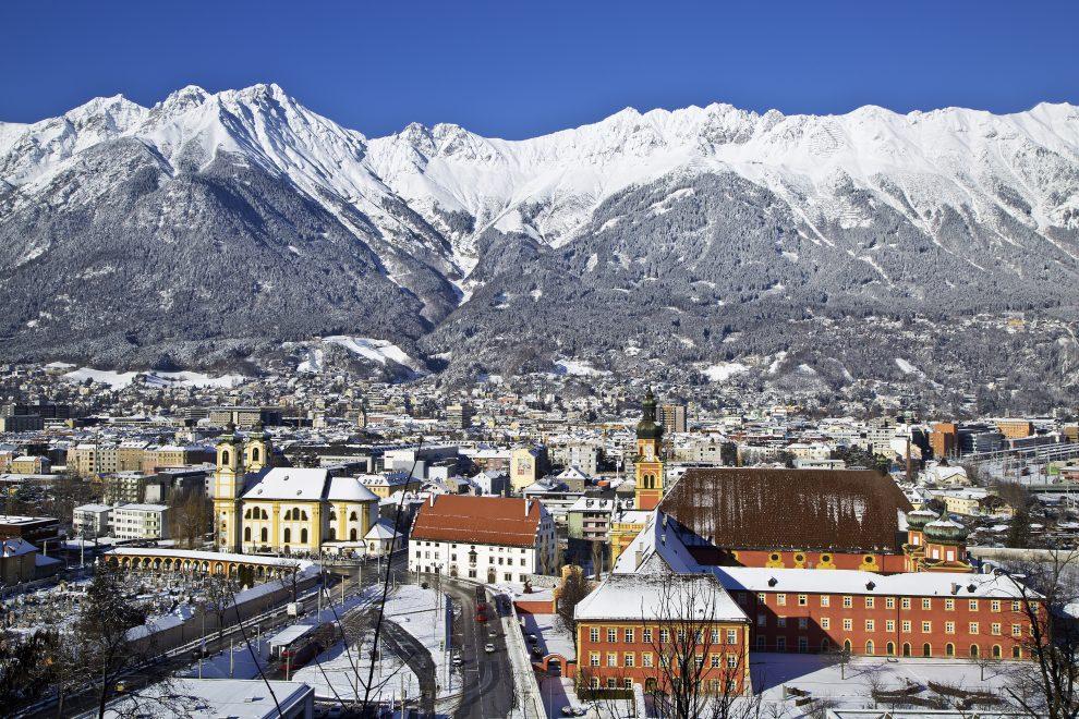 Innsbruck, op vakantie naar Innsbruck, weekendje weg