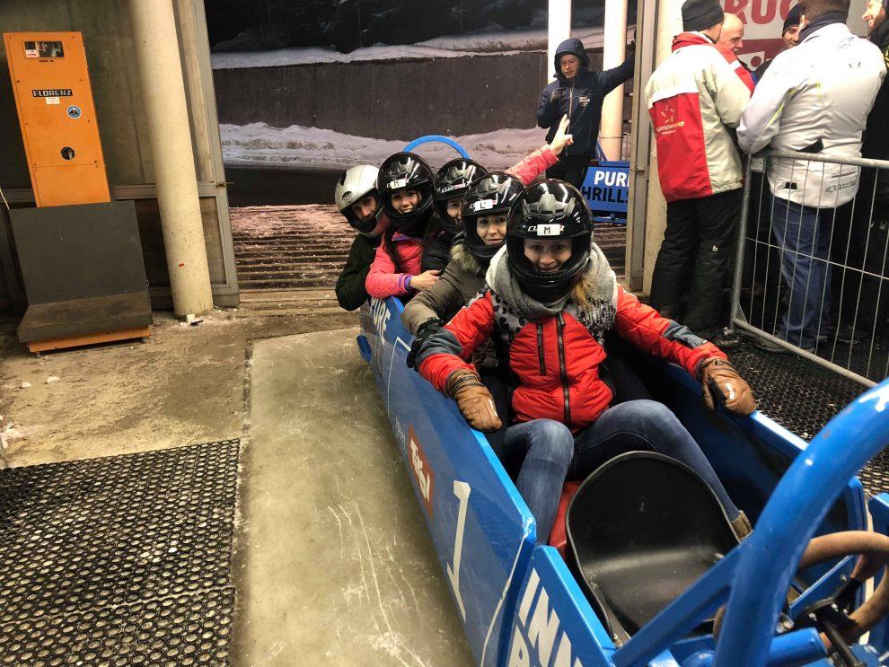 leuke dingen om te doen in Innsbruck Roddelen over de Olympische bobsleebaan - weekendje innsbruck