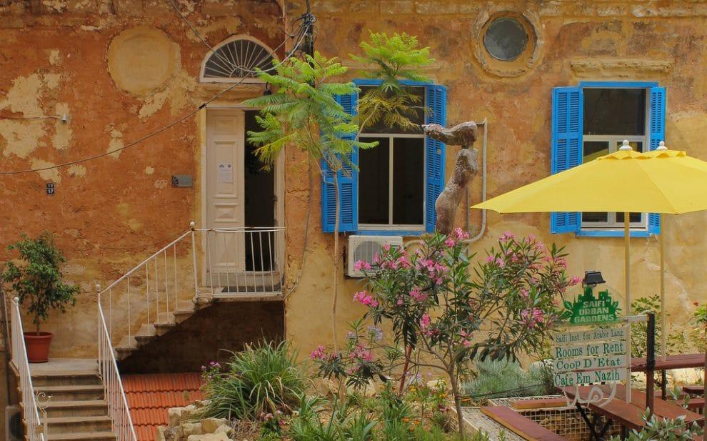 Libanon Beirut korte reisgids eten Saifi Urban Gardens