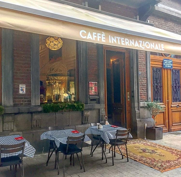 De culinaire gids van Luik Cafè Internazionale