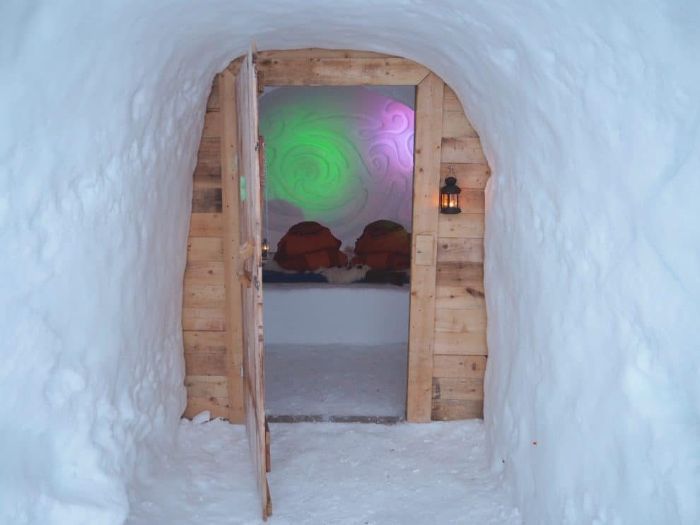 Slapen in een IgloKühtai - k best places to sleep in Innsbruck - weekendje innsbruck