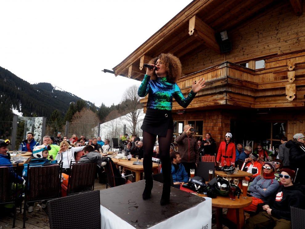 Skicircus Saalbach - Hinterglemm - Leogang - Fiebenbrunn White Pearl Mountain Days bij Maisalm Saalbach