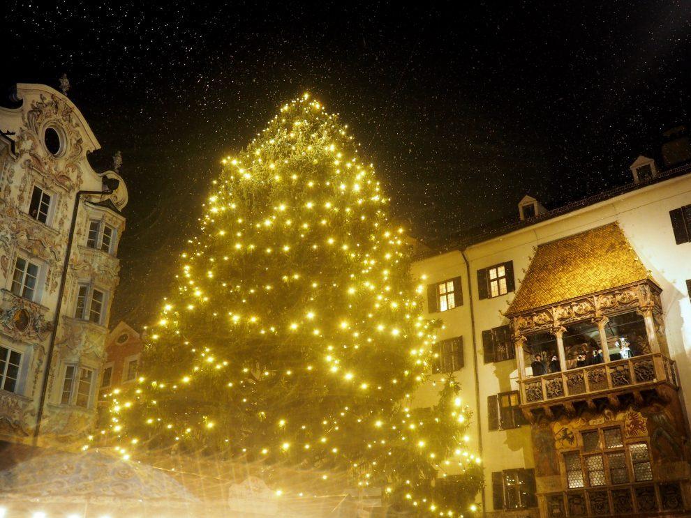 weekendje Innsbruck -citytrip - de kerstmarkt in Innsbruck bezoeken