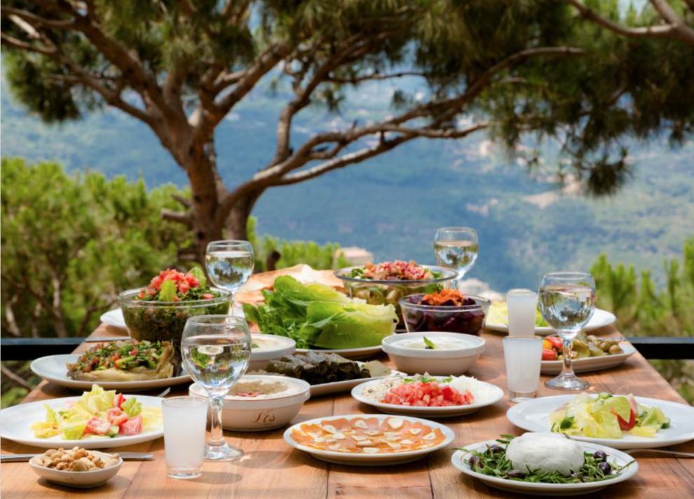Libanon Beirut korte reisgids eten in Libanon