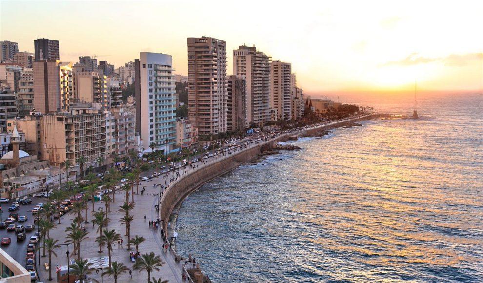 Libanon Beirut korte reisgids Corniche